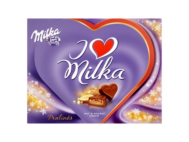 Milka I love milka Pralines 110g