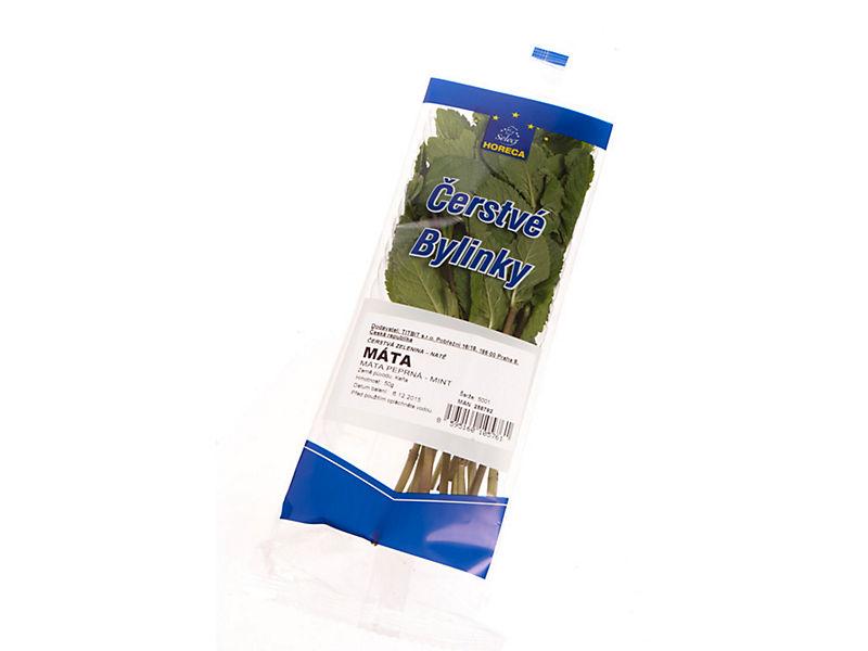 Máta zelená čerstvá vanička 50g