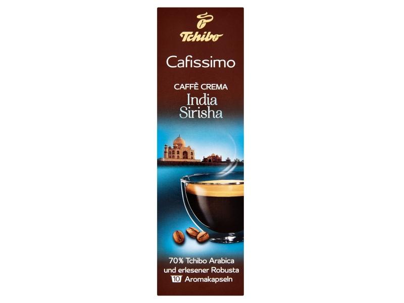 Tchibo Cafissimo Caffè crema india sirisha kapsle 10x7,5g