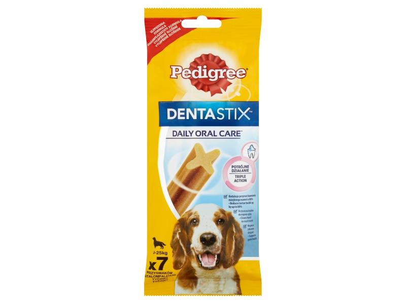 Pedigree Dentastix 10-25kg, 7 tyčinky 180g