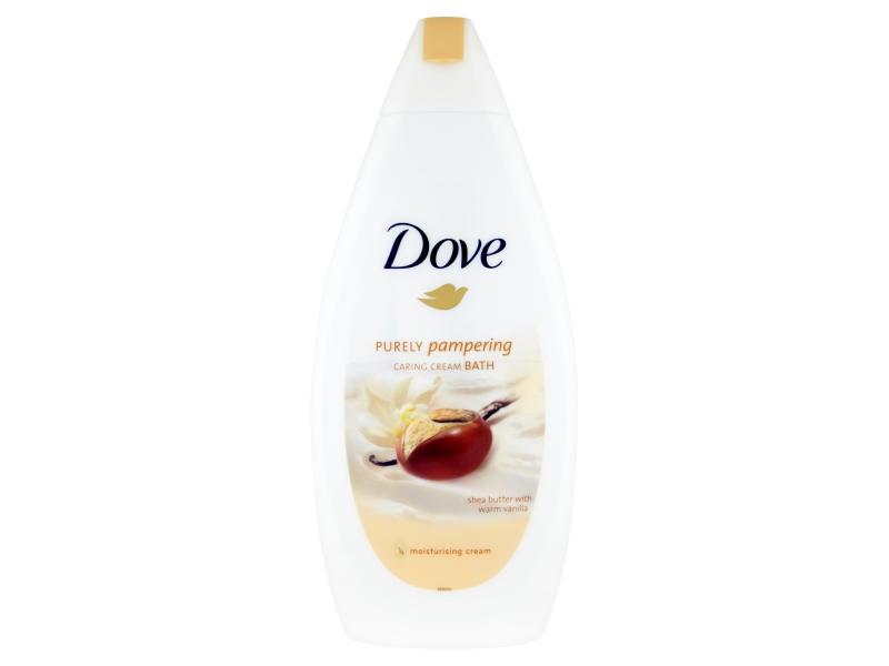 Dove Bambucké máslo vanilka Krémová pěna do koupele 500ml