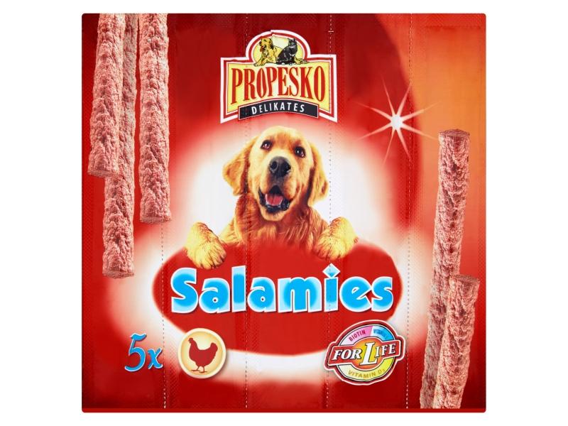 Propesko Salamies drůbeží klobásky 5 x 11g