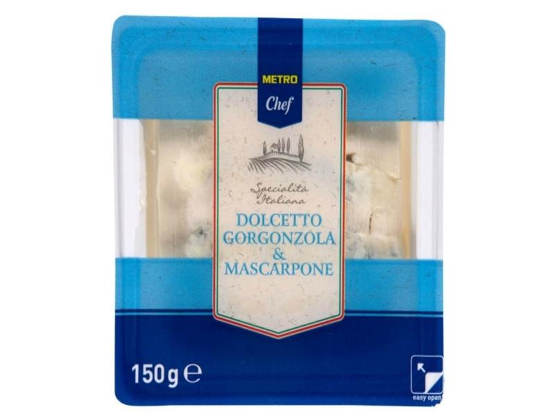 Metro Chef Gorgonzola Dolcetto & Mascarpone 150g