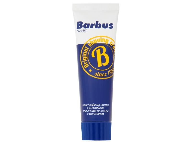 Barbus Classic Pěnivý krém na holení 75g, tuba