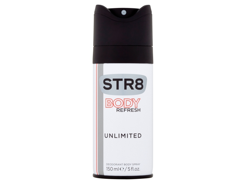 STR8 Unlimited Body Refresh deo sprej pán. 150ml