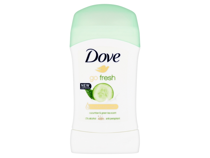 Dove Go Fresh Cucumber & Green Tea tuhý antiperspirant 40ml