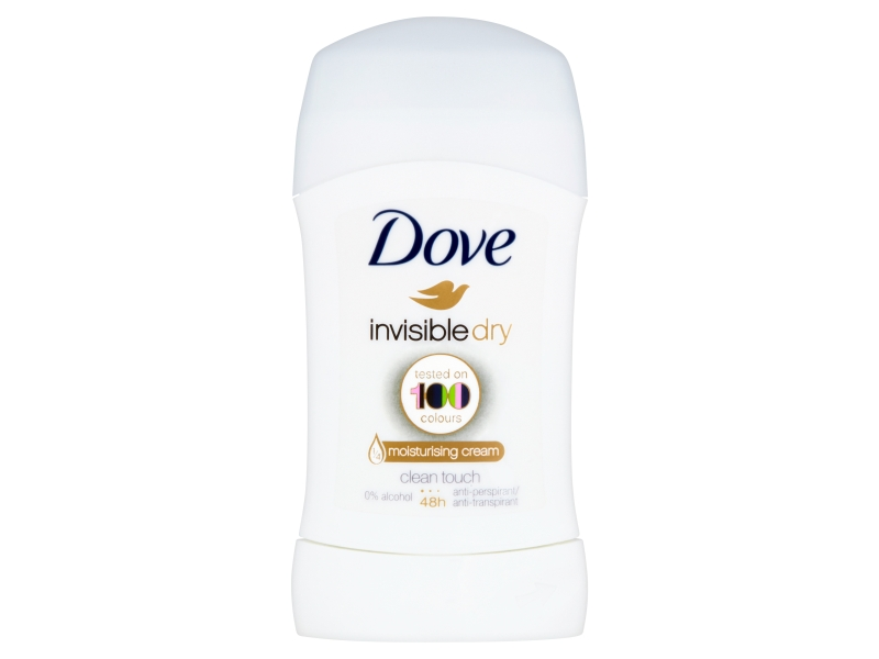 Dove Invisible Dry tuhý antiperspirant 40ml