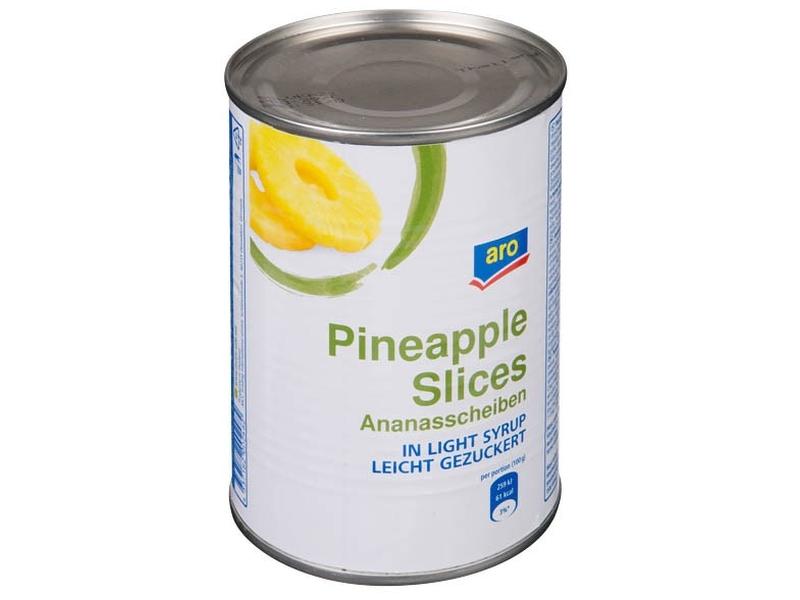 ARO Ananas plátky 580ml