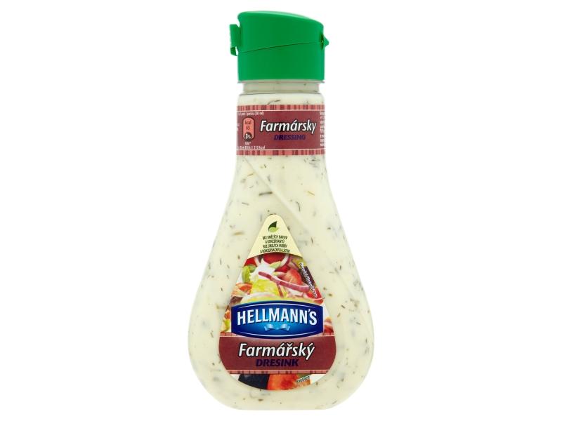 Hellmann´s Salátový dresink farmářský 235ml