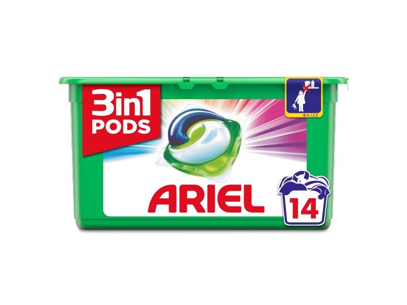 Ariel 3in1 PODS Color gelové kapsle 15 ks
