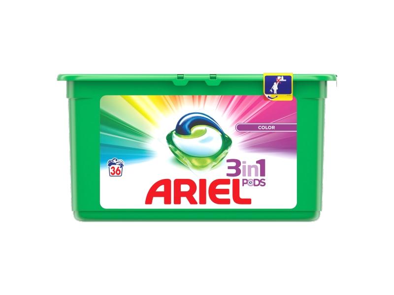 Ariel 3in1 PODS Color prací tablety 38ks