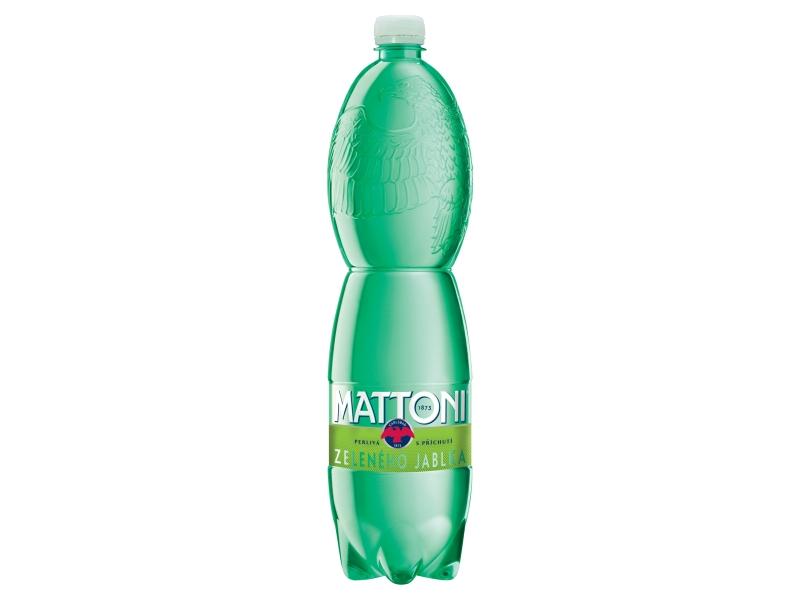 Mattoni Zelené jablko perlivá 1,5l