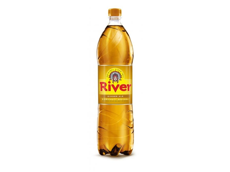 ORIGINAL River ginger ale 1,5l