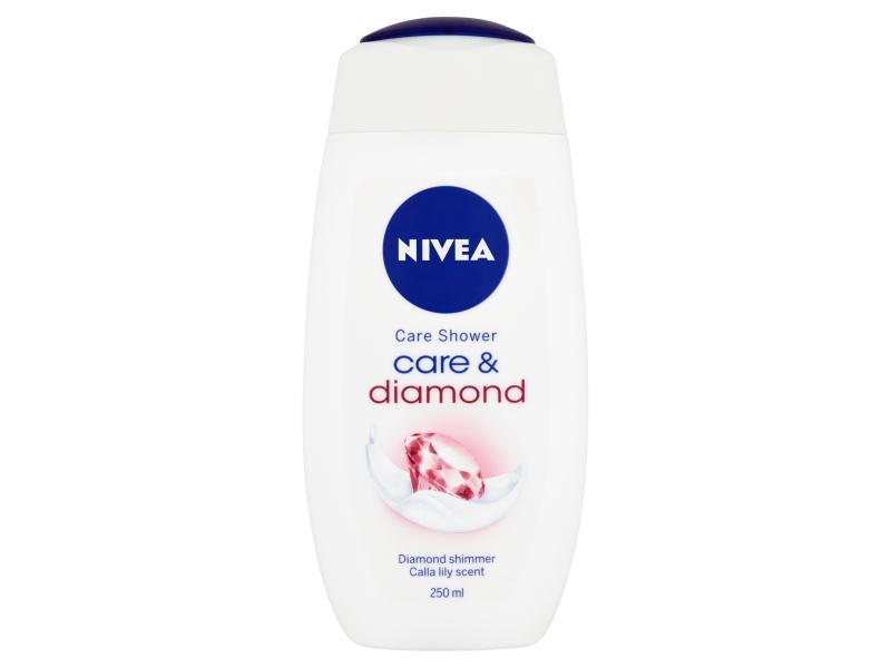 Nivea Care & Diamond Pečující sprchový gel 250ml