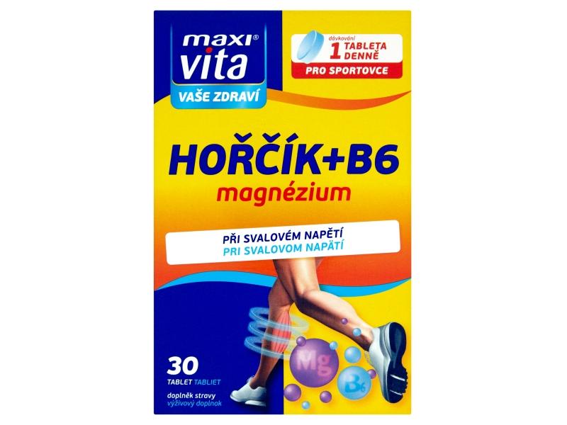 MaxiVita Hořčík+vitamin B6 30 tablet