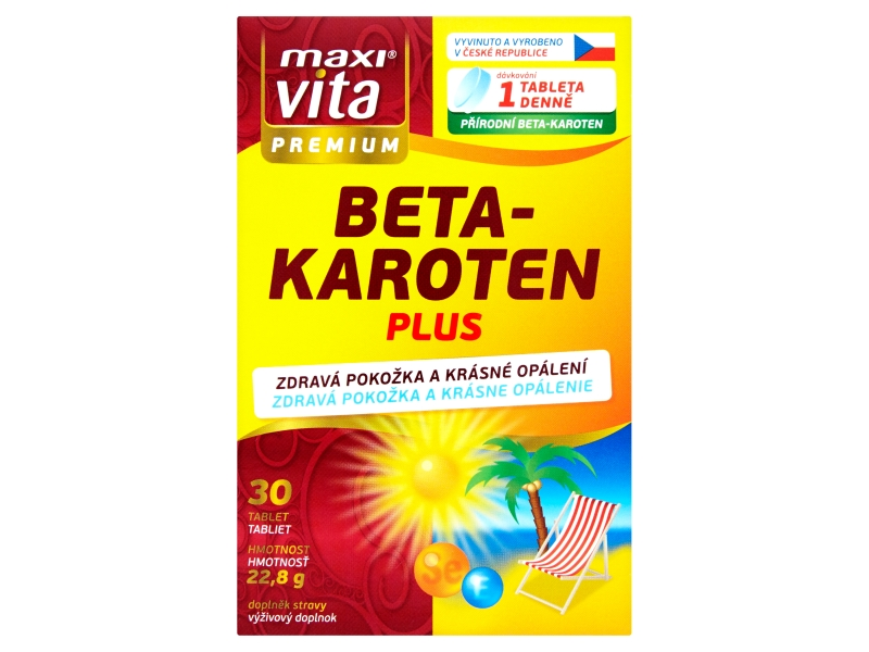 MaxiVita Betakaroten plus 30 tablet