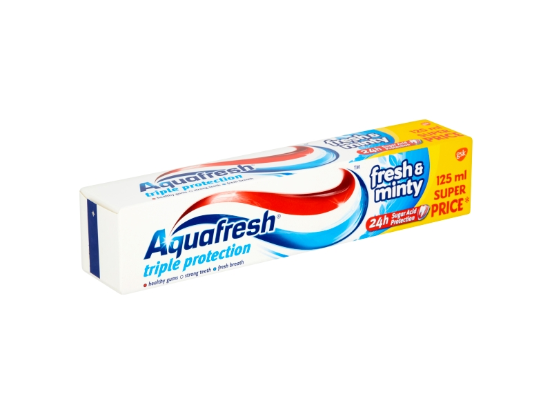 Aquafresh Triple Protection Fresh & Minty zubní pasta 125ml