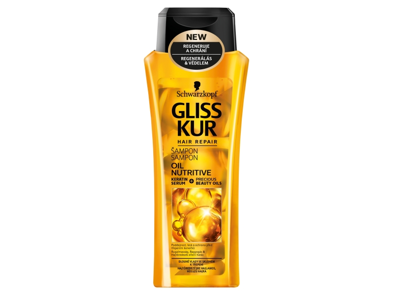 Gliss Kur Oil Nutritive šampon 250ml