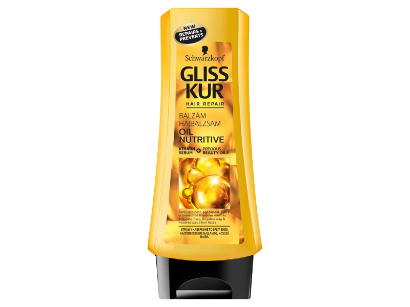 Gliss Kur Oil Nutritive balzám 200ml