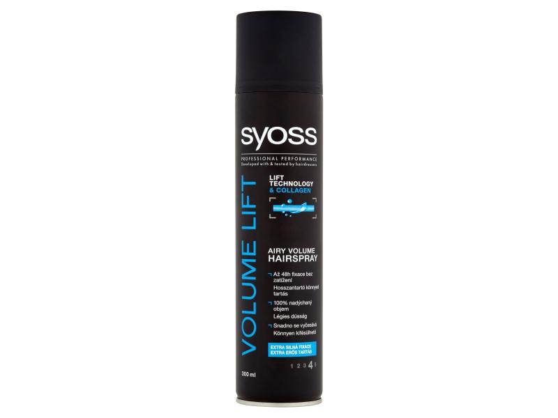 Syoss Volume Lift Lak na vlasy pro nadýchaný objem 300ml