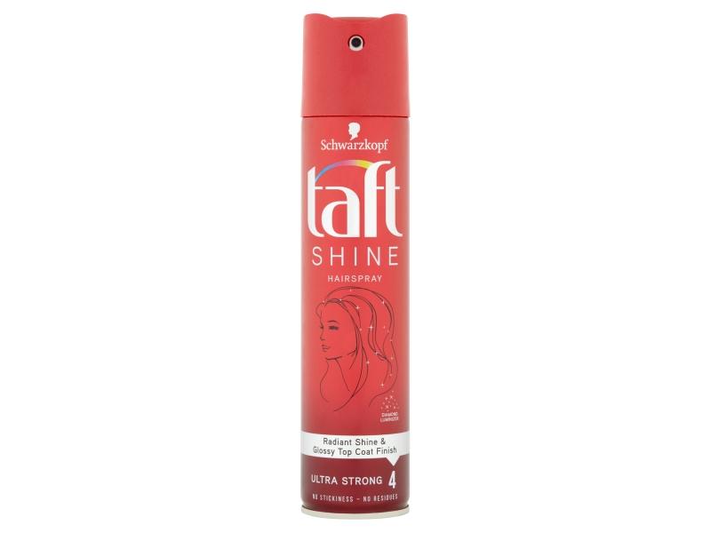 Taft Shine lak na vlasy Ultra Strong 4, 250ml