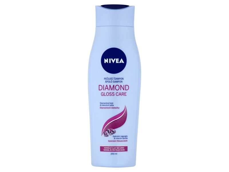 Nivea Diamond Gloss Care Pečující šampon 250ml