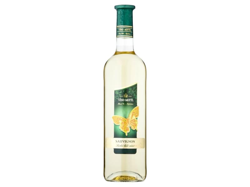 Víno Motýl Sauvignon suché bílé víno 0,75l