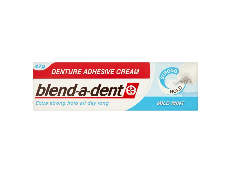Blend-A-Dent Mild Mint fixační krém na zubní náhradu extra silný 47g