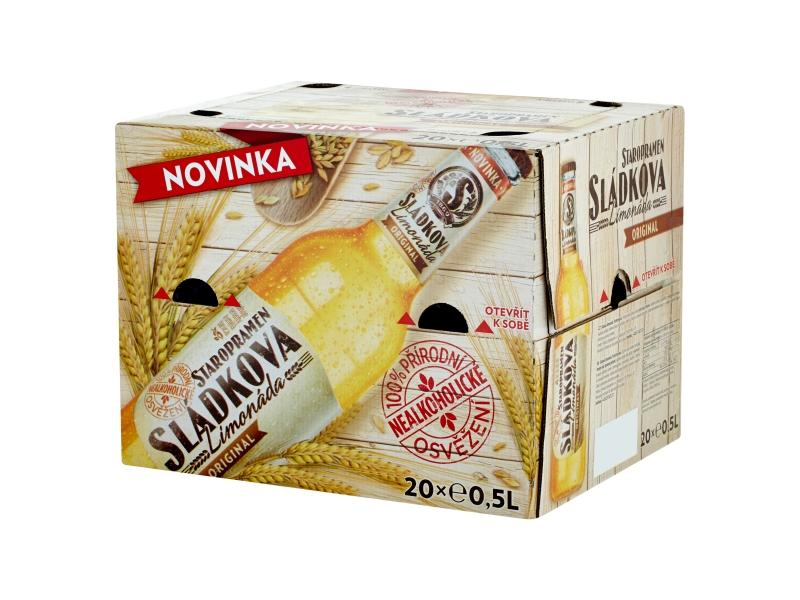 Staropramen Sládkova limonáda original 20x0,5l