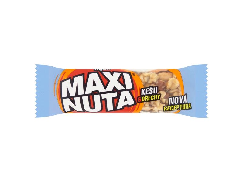 VÝPRODEJ Maxi Nuta Tyčinka kešu & ořechy 35g