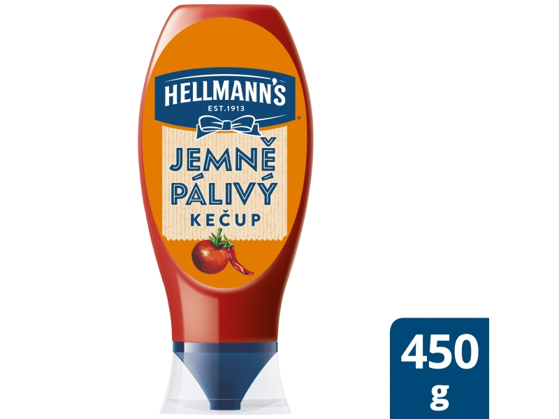 Hellmann´s Kečup jemně pálivý 450g