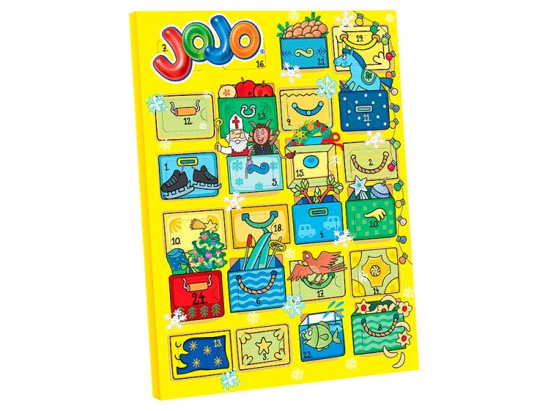 JOJO Adventní kalendář 156g