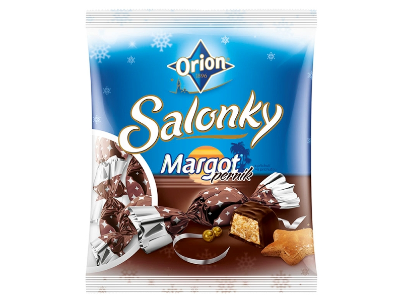 Orion Margot salonky perník 380g
