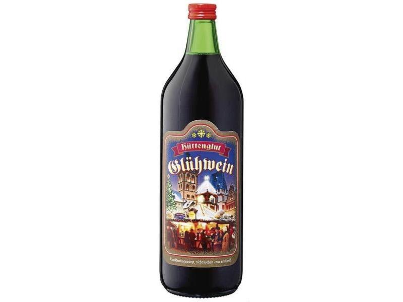 Hüttenglut Glühwein Svařené víno 1l, sklo