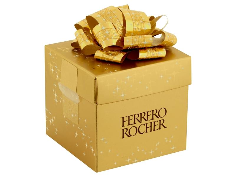 Ferrero Rocher Malá kostka zlatá pralinky 75g