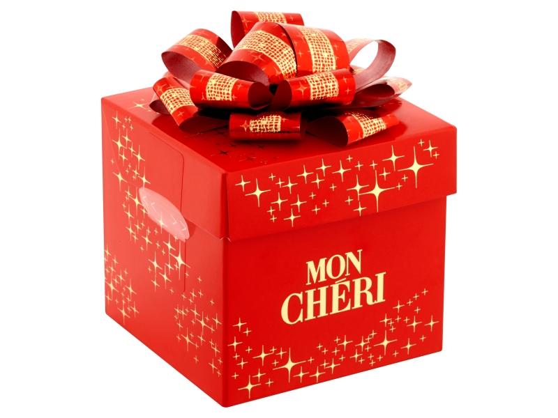 Ferrero Mon Chéri Malá kostka červená pralinky 84g