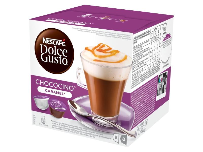 NESCAFÉ DOLCE GUSTO Choco caramel kapsle 8x14,9g+8x10,7g