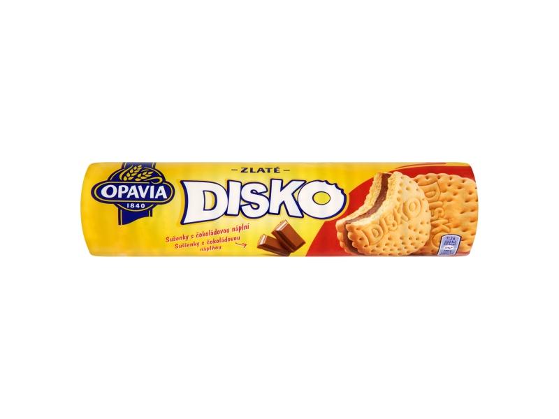 Opavia Zlaté Disko sušenky s čokoládovou náplní 157g