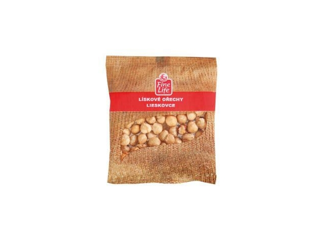 Fine Life Lískové ořechy blanšírované 80g