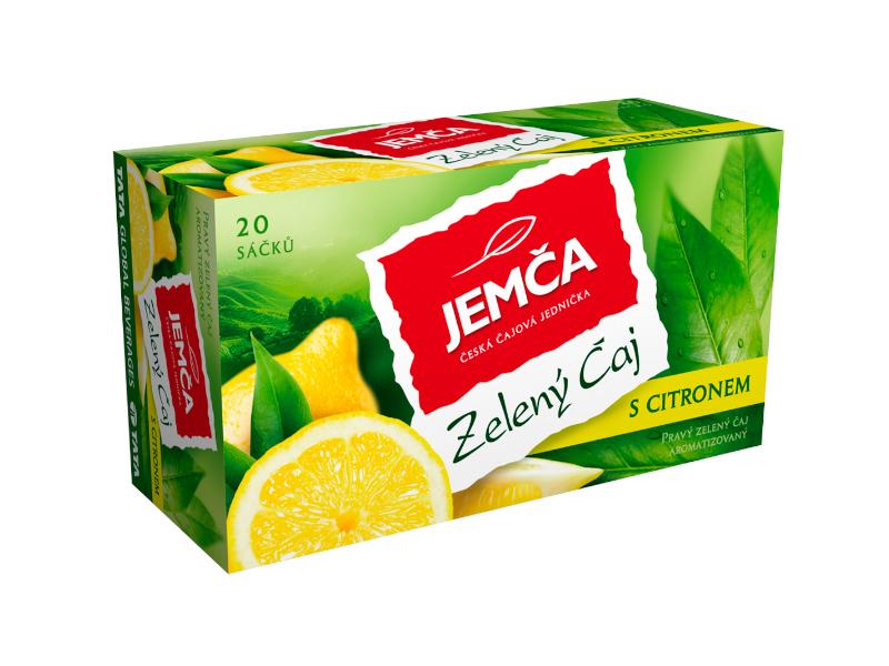 Jemča Čaj Zelený čaj s citronem 30g