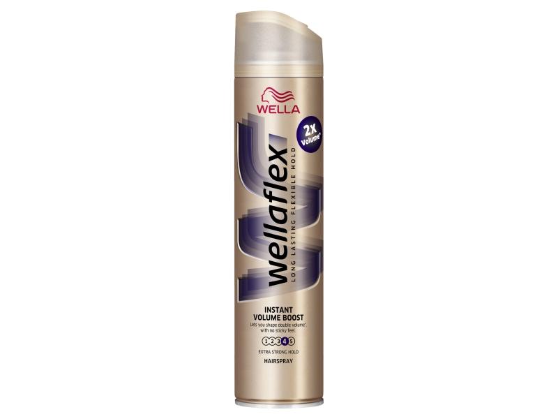 Wella Wellaflex Instant Volume Boost lak na vlasy 250ml