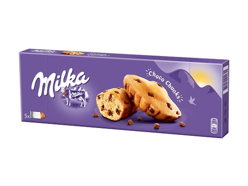 Milka Choco Chunks s kousky mléčné čokolády 140g