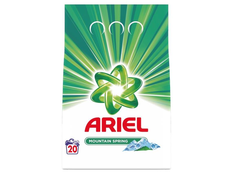 Ariel Mountain Spring prací prášek (20 praní) 1,4kg