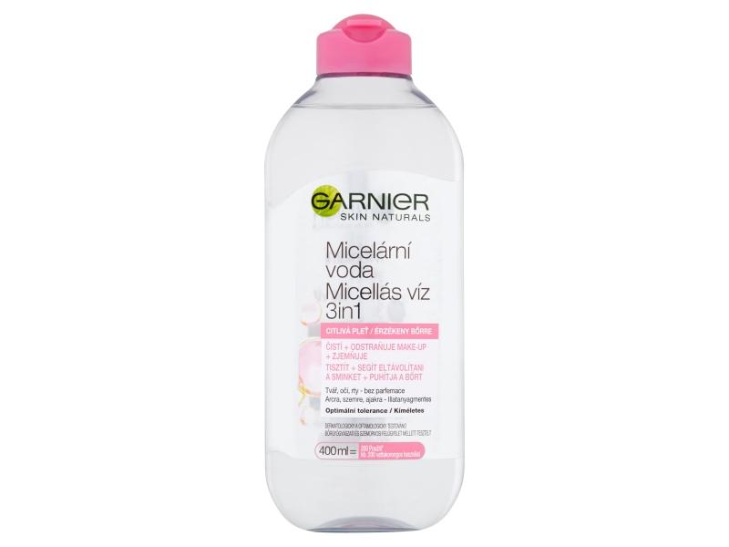 Garnier Skin Naturals Micelární voda pro citlivou pleť 3v1 400ml