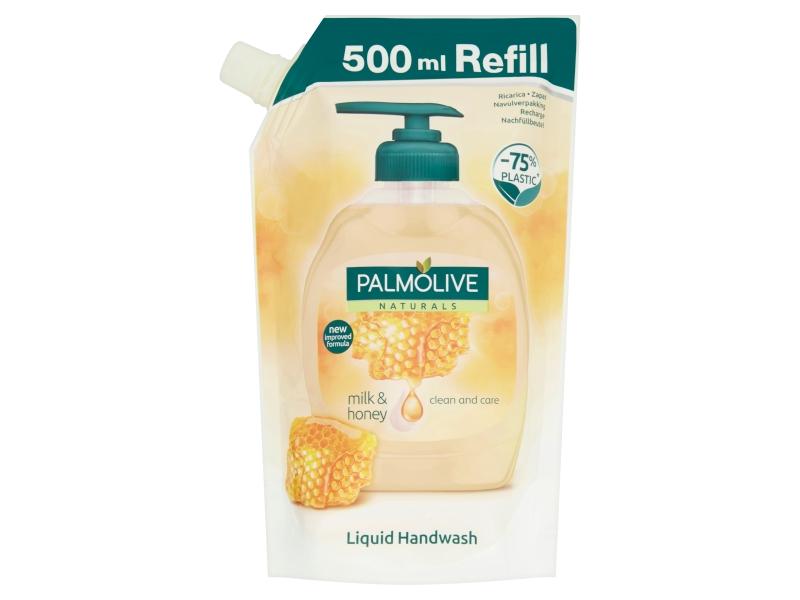 Palmolive Milk & Honey tekuté mýdlo náhradní náplň 500ml