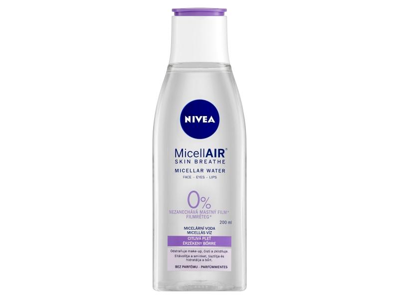 Nivea MicellAir Zklidňující micelární voda pro citlivou pleť 200ml