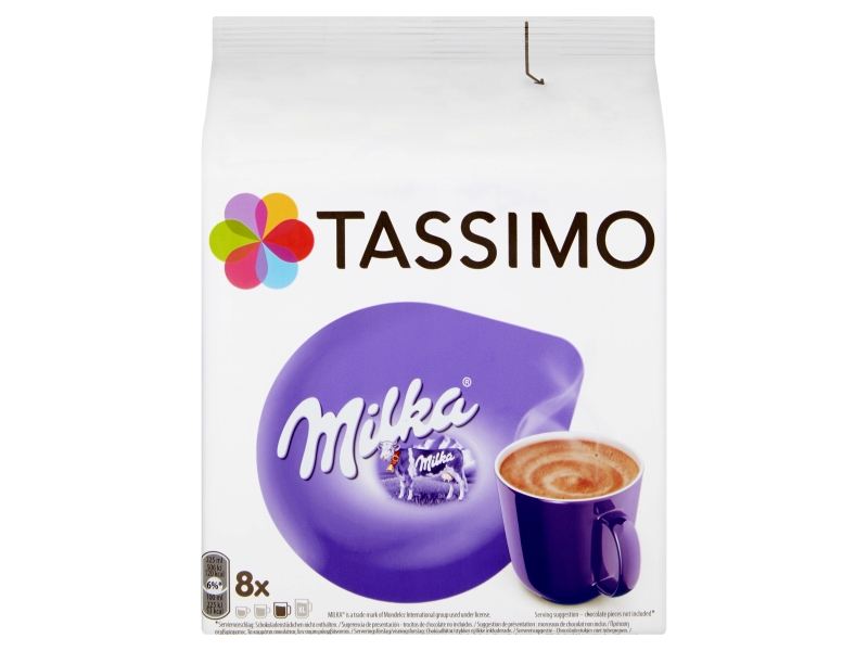 Tassimo Milka kapsle 8x30g