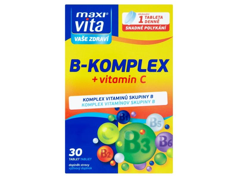 MaxiVita B-komplex 30 tablet