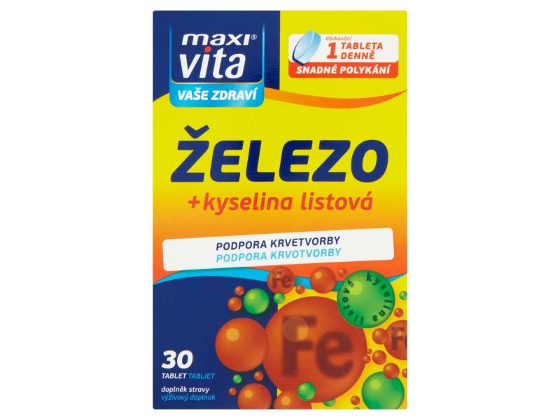 MaxiVita Železo 30 tablet