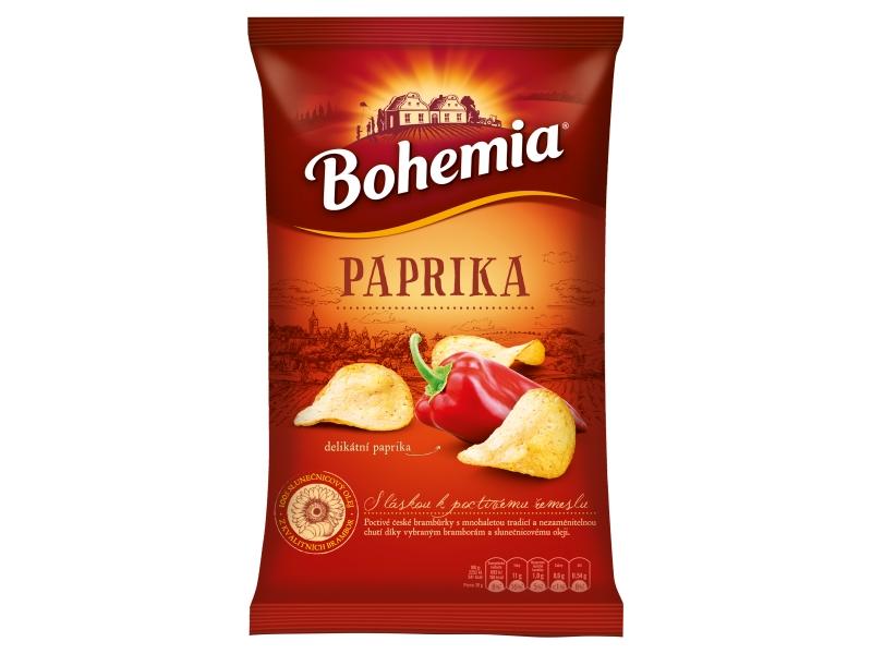 Bohemia Chips delikátní paprika 150g